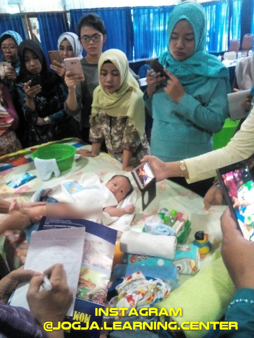 pelatihan baby spa berserfitikat bulan April 2017