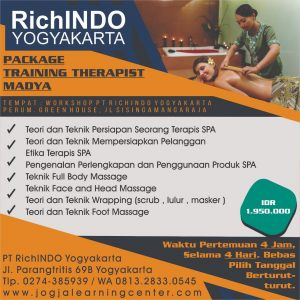 Pelatihan Privat Package Training Therapist Madya