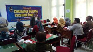Pelatihan Bimtek Custemor Servis Excelent Bagi LPK