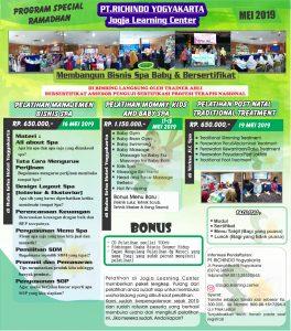 Pelatihan Mom Baby Spa Sumber Ladang Uang di Bulan Ramadhan