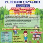 Pelatihan Manajemen Usaha Taman Penitipan Anak NOVEMBER