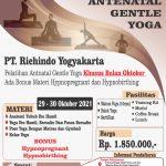 Pelatihan Antenatal Gentle Yoga Bulan Oktoberr